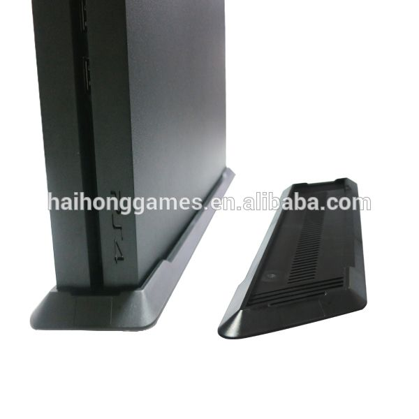 Black Vertical Plastic Stand Holder Base for PS4 PlayStation 4 Console #4_Console, #playstation