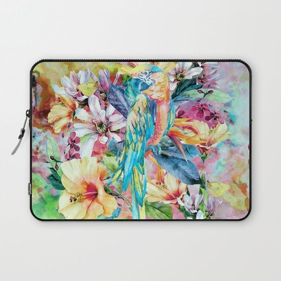 Buy PARROT by RIZA PEKER as a high quality Laptop Sleeve. Worldwide shipping available at Society6.com. Just one of millions of products available.