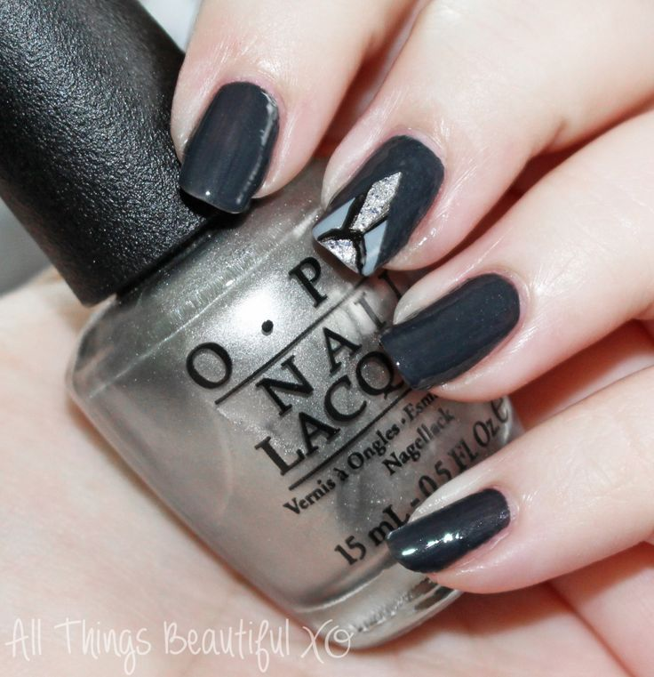 122 Nail Art Designs That You Won T Find On Google Images: 1000+ Ideas About Grey Nail Designs On Pinterest