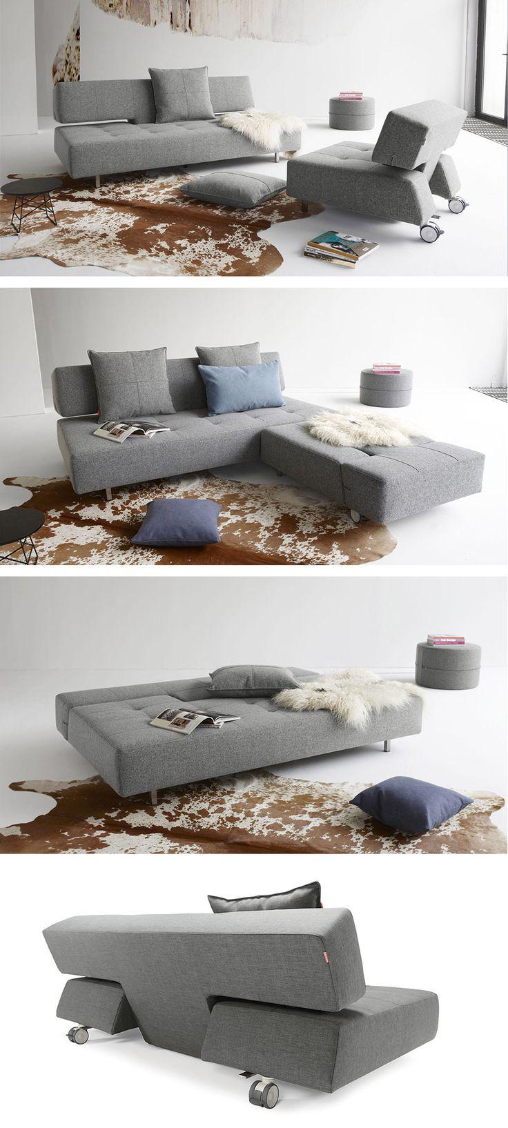 """Verstellbares Schlafsofa """"Ross"""" – ein echter Alleskönner.   Betten.de #schlafsofa #wohnzimmer #einrichten http://www.betten.de/schlafsofa-verstellbar-sitztiefe-70-cm-ross.html"""