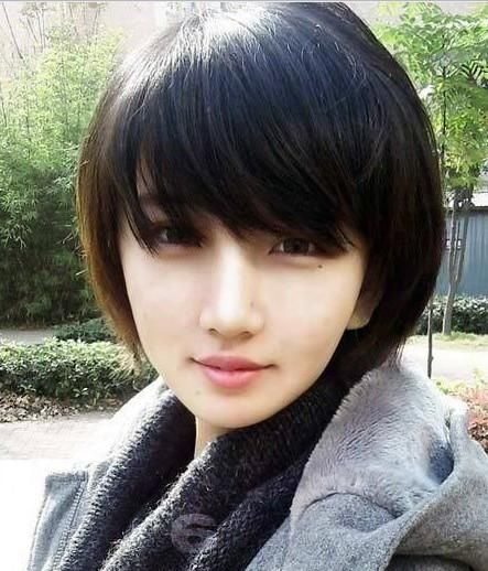 Short Asian Hairstyles for Beautiful Women