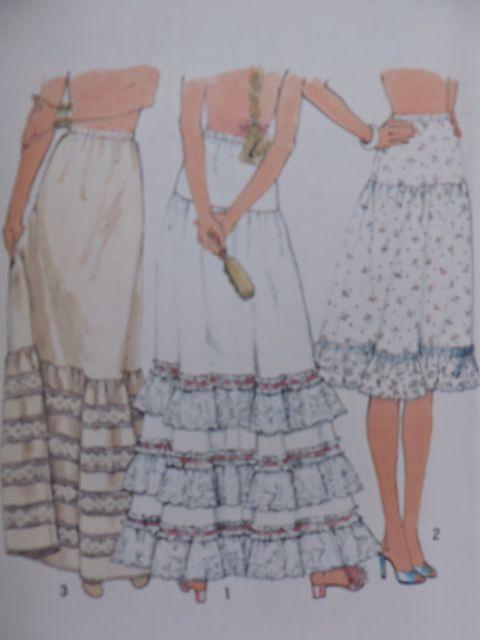 SeeSallySew.com - Petticoat Undergarment Petticoats Vintage 1978 Simplicity 8353 Pattern Sz. 6 - 8 Petite , $10.00 (http://stores.seesallysew.com/petticoat-undergarment-petticoats-vintage-1978-simplicity-8353-pattern-sz-6-8-petite/)