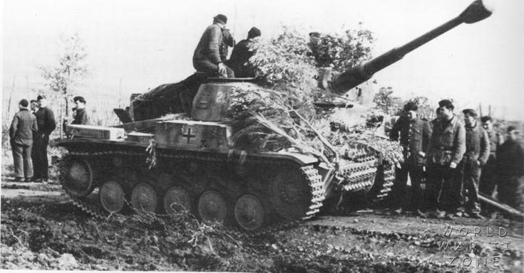 https://flic.kr/p/y6FGmd | Panzer II and Tiger I Italy 1944