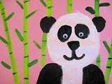 Panda schilderen