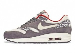 lhtky nike air max 1 womens leopard print grey white sneakers. nike free shoesnike