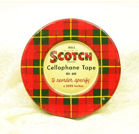 Scotch cellophane tape