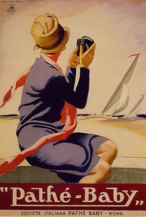 """Pathe-Baby"" (1923) Marcello Dudovich"