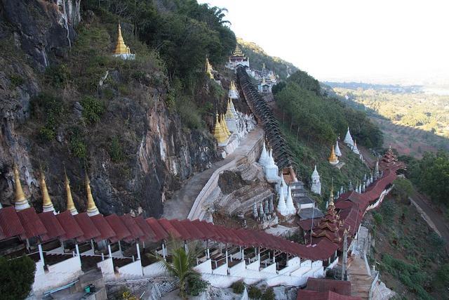 Pindaya Cave Steps, Burma #Myanmar #Burma #Tour