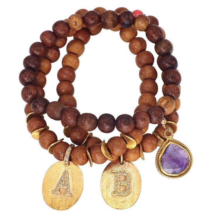 Veneto Double Wood Bracelet | Alanna Bess Jewelry