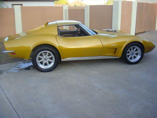 1973 Corvette appreciated by Motorheads Performance www.classiccarssanantonio.com