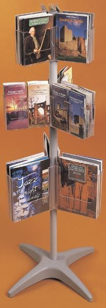 Floor Standing Brochure Holders / Magazine Holders