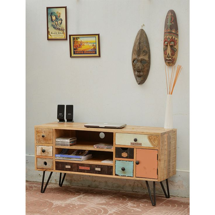 1000 ideas about meuble tv en bois on pinterest design salle tele am nage - Meuble tv vintage scandinave ...