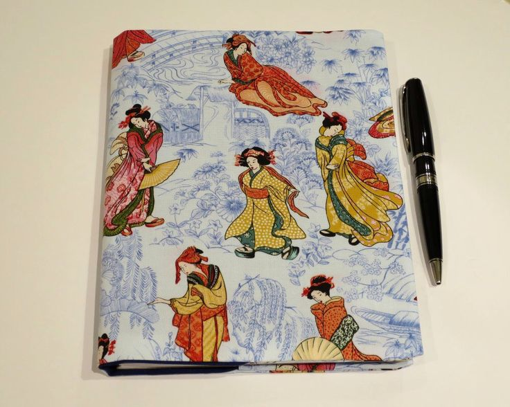 Fabric Book Cover, Suits A5 Notebook, Bonus Notebook Included, Blue Oriental Fabric Book Cover, Elegant Book Cover, Oriental Notebook by JadoreBooks on Etsy https://www.etsy.com/au/listing/453468644/fabric-book-cover-suits-a5-notebook