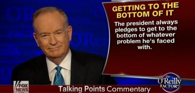 O'Reilly Talking Points DEVASTATES The Obama Presidency On Thursday's O'Reilly Factor, host Bill O'Reilly criticized President Obama ... among other incidents: FOX News · 10/25/2013