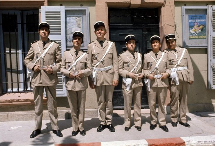 Les Gendarmes de Saint Tropez :) Movie. 1960   #french #stuff