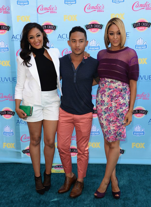 The Mowry siblings: | Fashion At The 2013 Teen Choice Awards