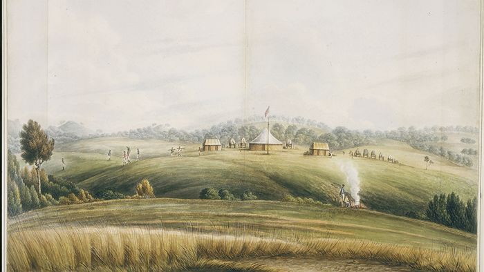It was the 7th of May 1815 when Governor Lachlan Macquarie, fresh from his journey across the Blue Mountains, erected a flagstaff and started a new settlement called Bathurst.