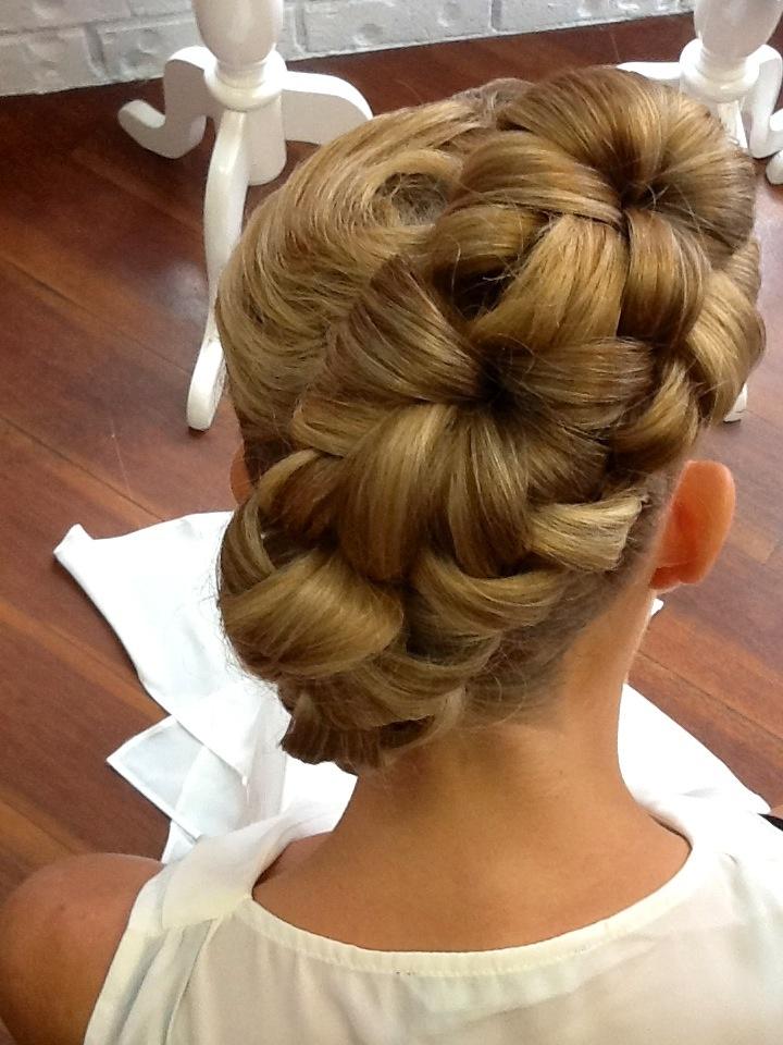 Wedding hair..