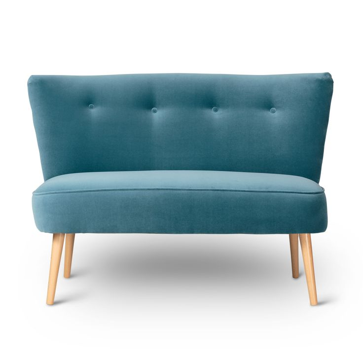 Buy the Delft Le Cocktail Velvet Two Seater Sofa at Oliver Bonas. We deliver Homeware throughout the UK within 5-12 working days from £35.