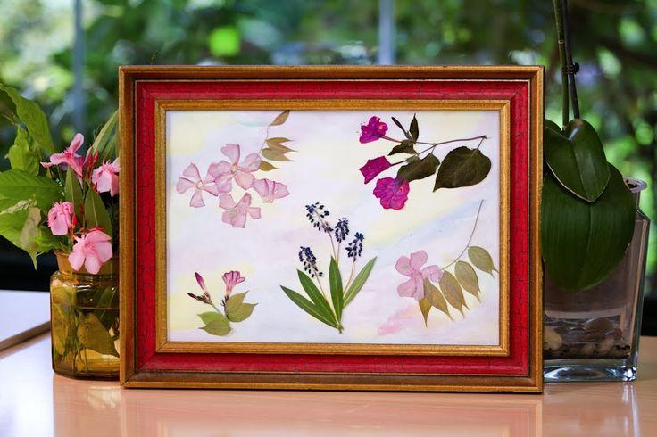 84 mejores im genes sobre cuadros hechos en casa en - Como hacer un cuadro con fotos familiares ...