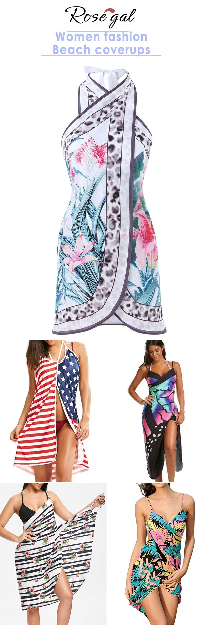 Rosegal 2019 spring summer fashion beach swimsuit coverups
