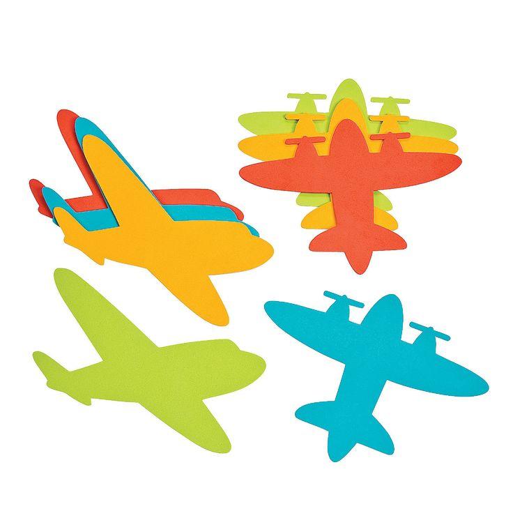 Jumbo+Airplane+Shapes+-+OrientalTrading.com