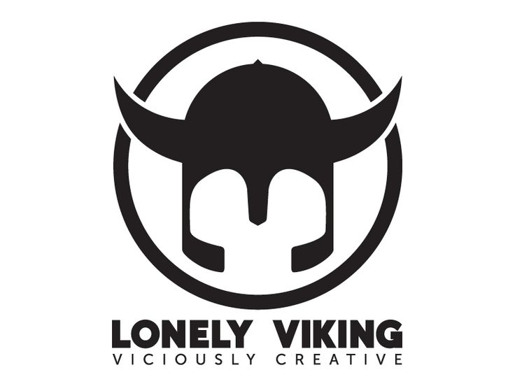 Lonely Viking Logo - by Shane Rielly