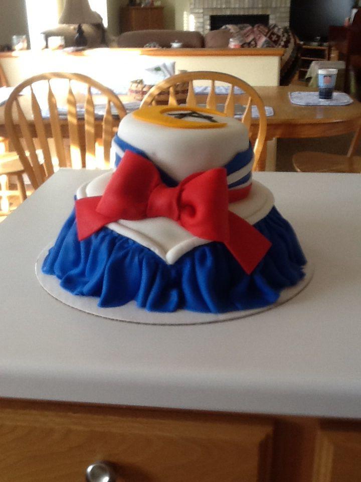 Custom Sailor Moon cake!!