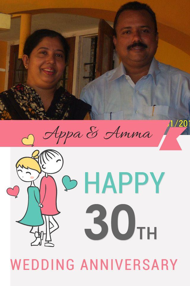 Wedding anniversary wishing 30th