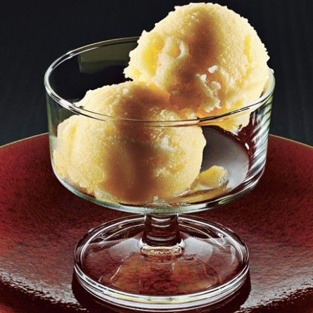 Tangerine and Prosecco Sorbet Recipe