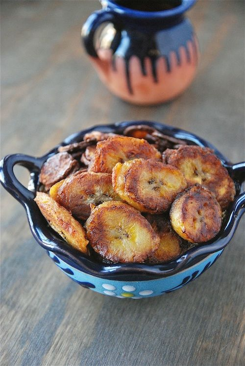 Pan Fried Plantains...LOVE these from the Cuban restaurants down in Fort Lauderdale!!!