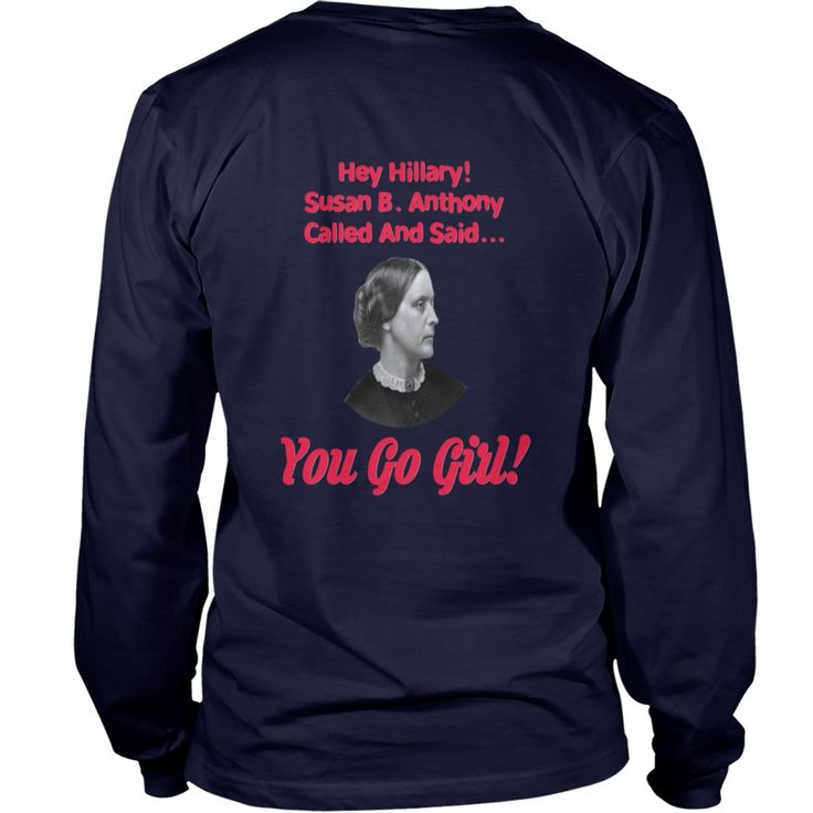 new Hey Hillary! Susan B Anthony Called #gift #ideas #Popular #Everything #Videos #Shop #Animals #pets #Architecture #Art #Cars #motorcycles #Celebrities #DIY #crafts #Design #Education #Entertainment #Food #drink #Gardening #Geek #Hair #beauty #Health #fitness #History #Holidays #events #Home decor #Humor #Illustrations #posters #Kids #parenting #Men #Outdoors #Photography #Products #Quotes #Science #nature #Sports #Tattoos #Technology #Travel #Weddings #Women