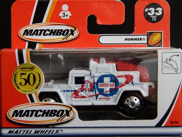 Model Matchbox Hummer