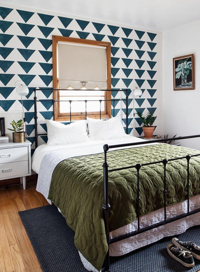 Geometric Patterns Perk Up a Mid-Century Home in Oregon   Design*Sponge