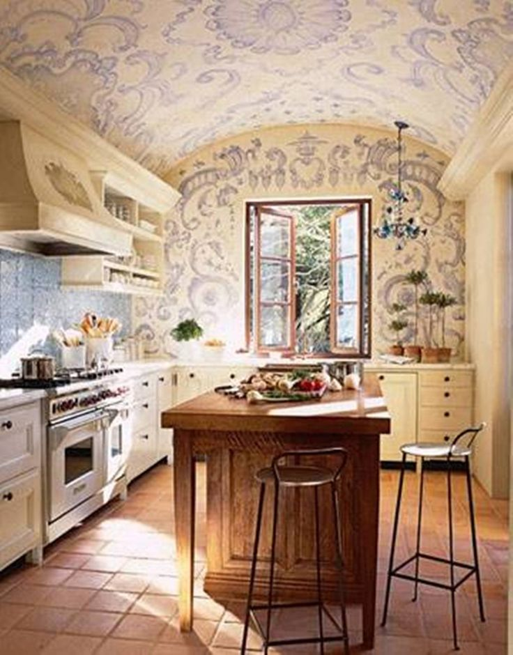 44 best images about mediterranean style on pinterest for Mediterranean style kitchen photos