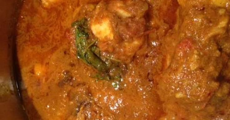 CURRY CHICKEN - JJ's Spicy Thermo Kitchen