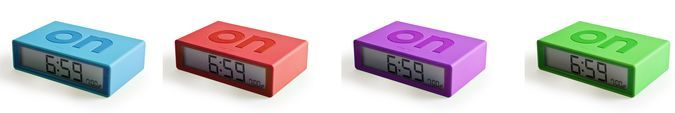 Flip-Over Alarm Clock http://coolpile.com/gear-magazine/flip-over-alarm-clock/ via CoolPile.com - $45 -  Alarm Clock, Cool, Firebox.com, Gifts For Her, Gifts For Him, Morning