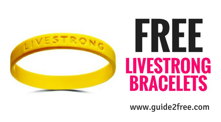 Get FREE Livestrong Bracelets!!  Just click on sign up and enter your info to get them for free.  You can request 2 or 10.  For this year's #LIVESTRONGDay, we're celebrating our 20th anniversary and our historical yellow wristband. via @guide2free