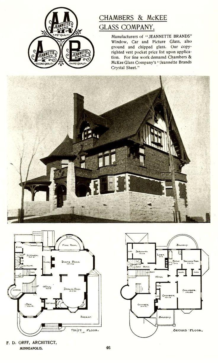 "Edmund G Walton House, 1893 ""GREY COURT"" (REAL ESTATE, LOANS & Rentals) 802 MT Curve Avenue Minneapolis, MINNESOTA Architect: Orff & Joralemon Cost: $15,000 TORN DOWN 1959 Announcement: Builder & Decorator Vol 7 No 1 Jan 1893 p 18 (MN His Society) Photo/plans: Orff & Joralemon office brochure (Mpls History Collection) Photo #1: Dual City Blue Book 1909-10 (HCHS) copy (CDT Collection)"