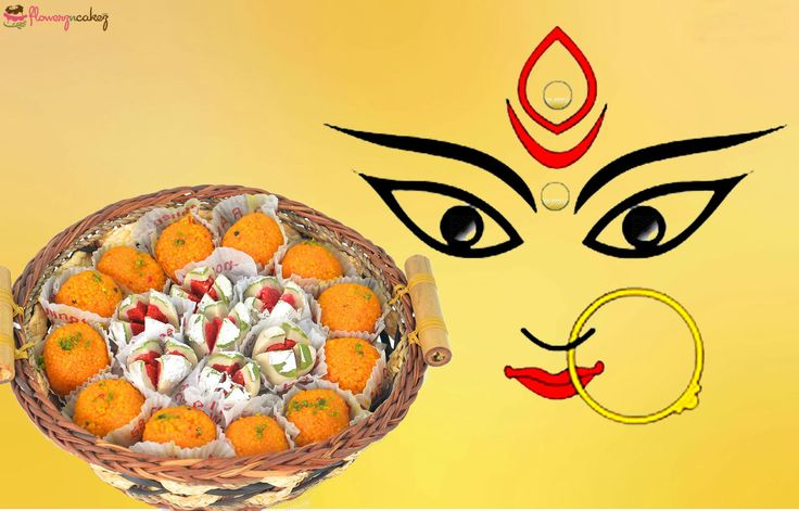 This Sharod Utshob , or #DurgaPuja , gift your family with wonderful #sweet hampers . For other #sweet options, visit @flowerzncakez