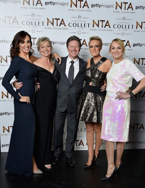 Sally Nugent Photos Photos - (L-R) Sally Nugent, Carol Kirkwood, Charlie Stayt, Stephanie McGovern and Louise Minchin attend the 21st National Television Awards at The O2 Arena on January 20, 2016 in London, England. - National Television Awards - Inside Arrivals