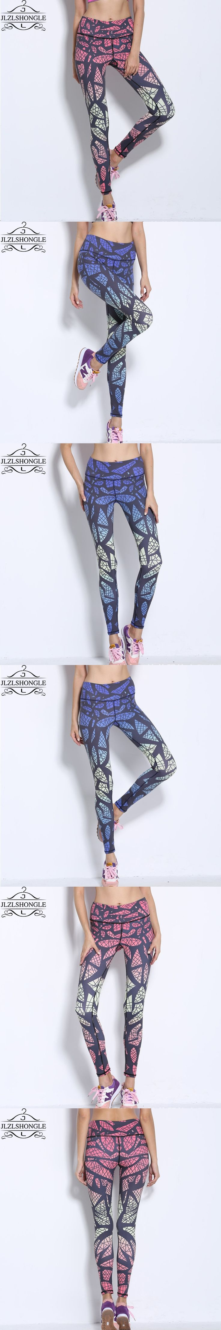 Ropa Deportiva Mujer Fitness 2016 New Style Bird's Nest Pattern Printed Famale Leggings Fitness Leggings Famale Capris