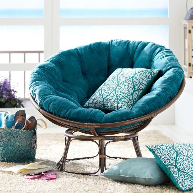 25 beste idee n over papasan stoel op pinterest herfst for Chill stoel
