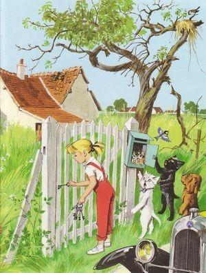 Caroline, Pouf et Youpi découvrent leur nouvelle maison . De Pierre Probst