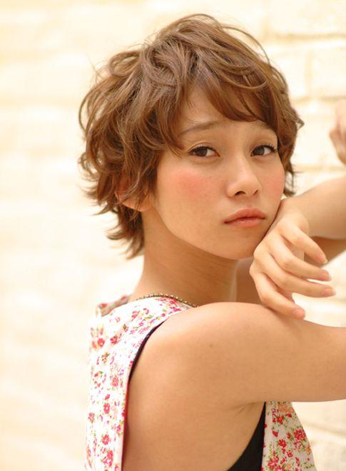 ふわクシャ☆マッシュ☆ニュアンスパーマ 【fifth】 http://beautynavi.woman.excite.co.jp/salon/22658?pint ≪ #shorthair #shortstyle #shorthairstyle #hairstyle・ショート・ヘアスタイル・髪形・髪型≫