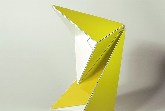 Origami Table Lamp by Mirco Kirsch
