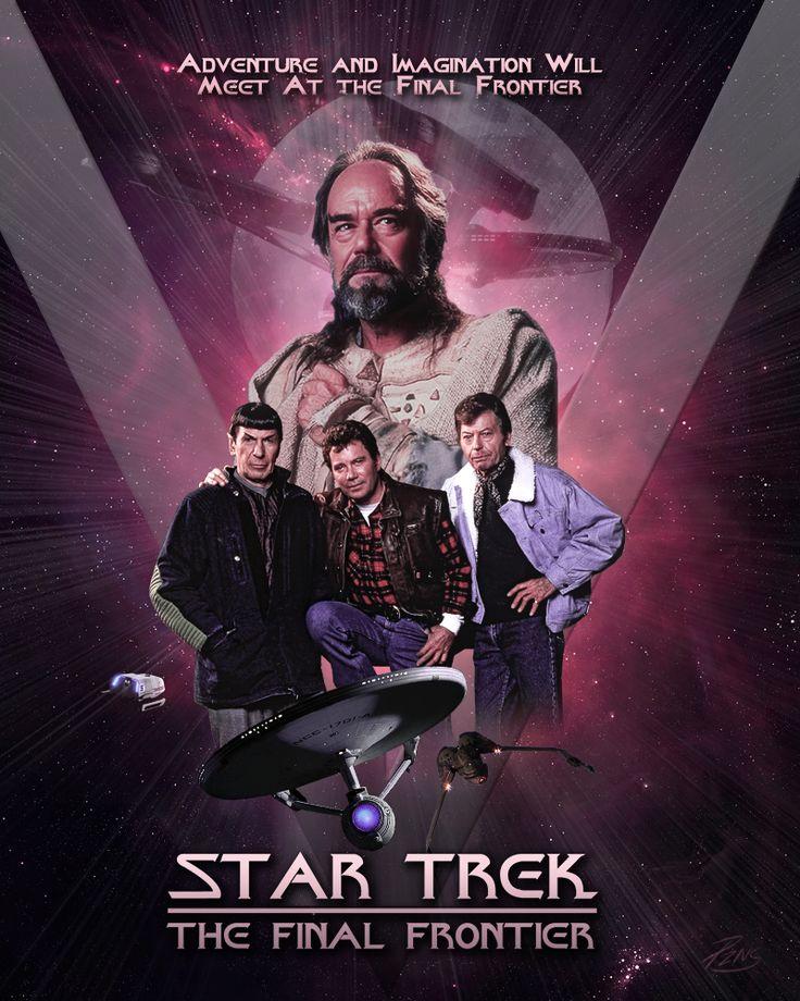 Star Trek V The Final Frontier.