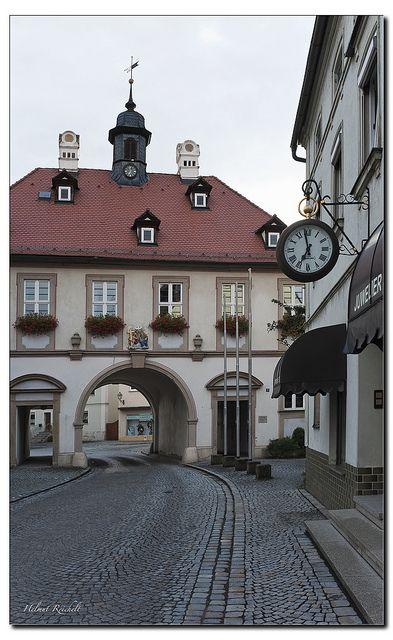 Stadttor in Burgebrach   Flickr: Intercambio de fotos