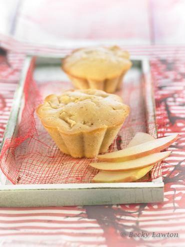 Muffins de manzana esmaca.cat macrobiotic