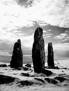 Glengorm Stone Circles, Tobermory, Isle of Mull,  Scotland